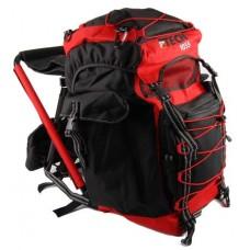 OL-Tech 55-liter (zwart/rood)